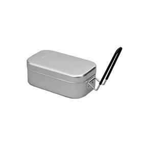 Trangia Brotdose klein met aluminium handvatten zilver